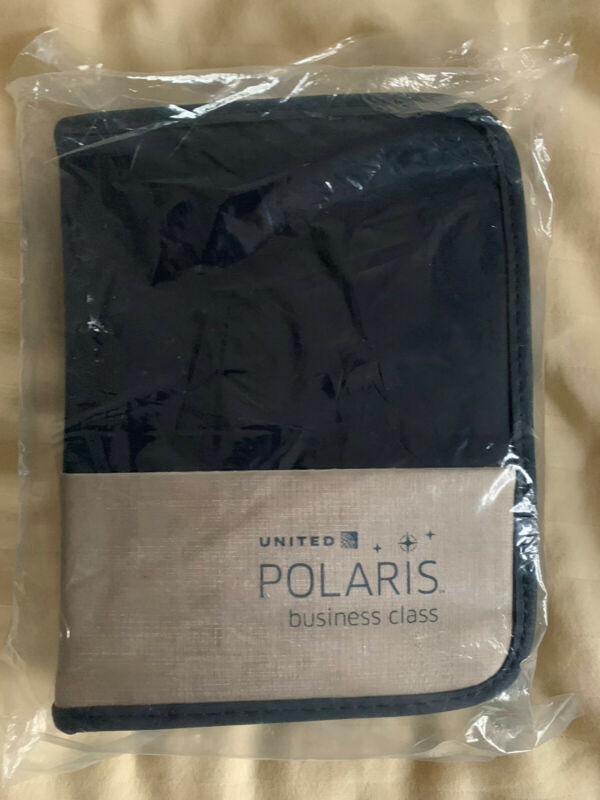 United Airlines Polaris business class amenity kit - NEW & SEALED Business First