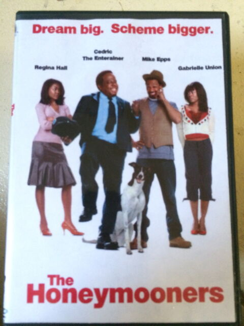 Cedric the Entertainer Gabrielle Union HONEYMOONERS ~  2005 Comedy Remake UK DVD