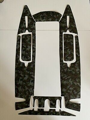 Angling Technics Microcat / HD Bait Boat Digital Camo Vinyl Sticker Set