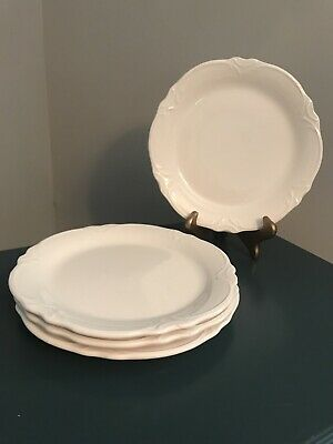 Set of 4 Salad Plates Madeline by PIER 1 One White Salad Plate Set