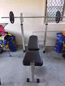 Bench press and weights Redland Bay Redland Area Preview