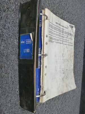 Volvo Michigan Euclid L190 Wheel Loader Parts Catalog Manual