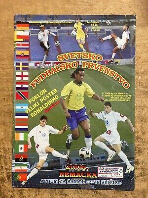 ALBUM E SET COMPLETO FIGURINE AS SPORT SVETSKO FUDBALSKO WORLD CUP 2006