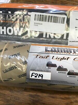 Lamin-X Protective Film Tail Light Covers, F219, New