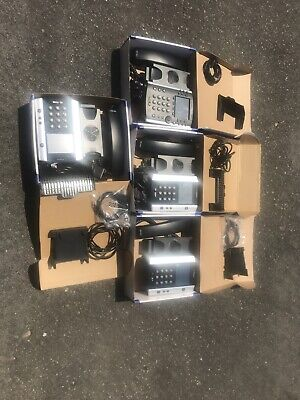 4 Polycom Vvx 500 Ringcentral 12-line Poe Hdvoice Business Phones