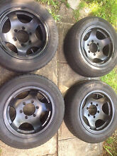 "Rims with tyres 6 stud 15"" for sale Beverly Hills Hurstville Area Preview"