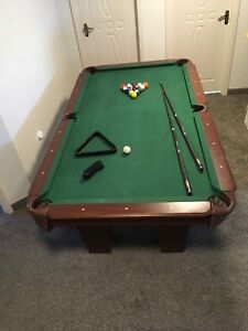POOL TABLE  4.5' by 8'