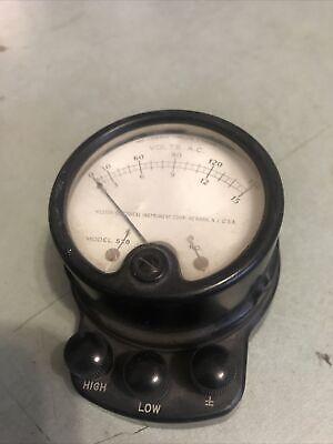 Vintage Weston 528 A.c. Voltmeter