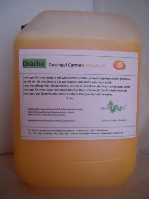 Duschgel Pfirsichduft 10 Liter