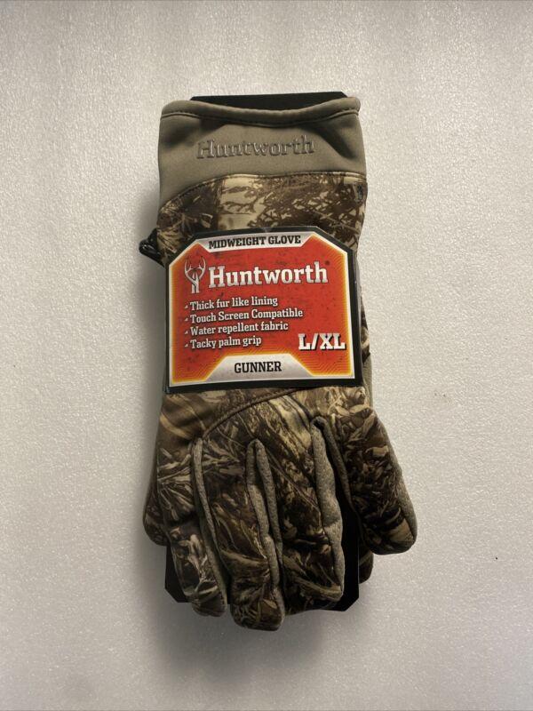 Huntworth Midweight Hunting Glove Size L/XL Huntworth Hunting Gloves 1135-30M1XT