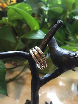 Ippolita Smooth Sterling Silver 3 Layer Ring Size 6 1/2