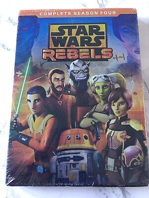 STAR WARS REBELS - COMPLETE SEASON 4   - DVD - Region 1 - Sealed