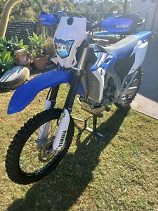 Wr450f 2015 low kms excellent condition