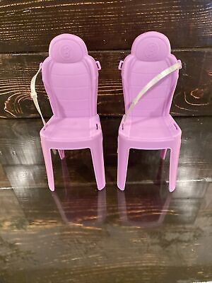 Mattel Barbie Dream Camper RV Pink 2016 Motor home Chairs Only Replacement