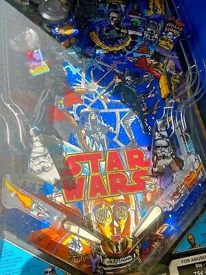 Vintage STARWARS Pinball Machine