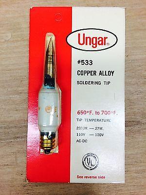 Soldering Tip Copper Alloy Ungar 533 Nn0462-4