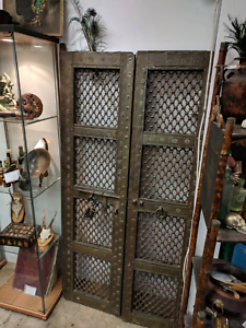 Antique Indian Entry Doors Vintage Garden Gates