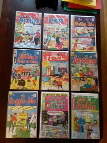 Lot of 1960s & 1970s ARCHIE COMICS Life With Archie #45 Sabrina Betty Veronica