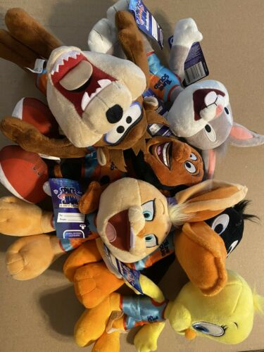 Space Jam Plush Lot Of 6 Complete Set  - $50.00