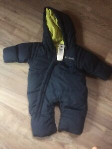 Columbia Down filled snowsuit