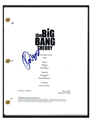 Kunal Nayyar Signed The Big Bang Theory The Cornhusker Vortex S3 E6 Script COA