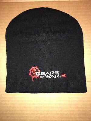 GEARS OF WAR 3 KNIT HAT-COLLECTORS BEANIE **NEW**