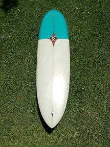 Bennett's boards mini mal, retro twin fin fish, hybrid surfboard Mona Vale Pittwater Area Preview
