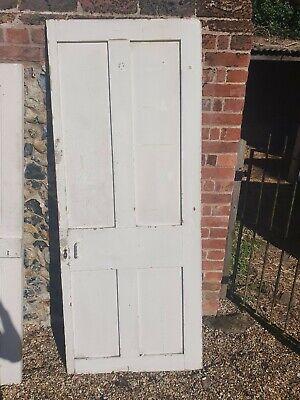 Original Victorian 4 Panel Door