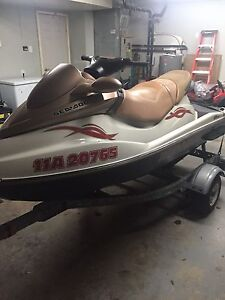 2004 SeaDoo GTI LE RFI 110 FUEL INJECTED WITH ONLY 93 HOURS