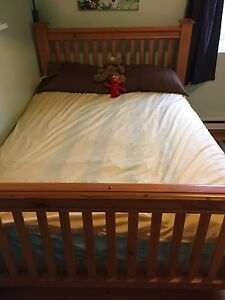 Solid wood / pine double bed
