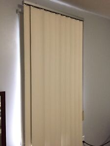 Two vertical drawing Window blinds