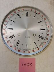 JAPANESE  SCHOOL HOUSE CALENDAR WALL CLOCK REGULATOR DIAL
