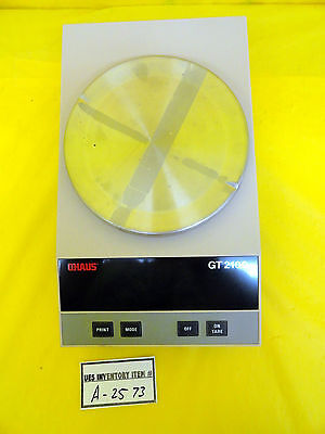 Ohaus Precision Gt2100 Digital Scale Used Working
