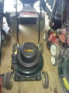 Yard work electric lawn mower $75