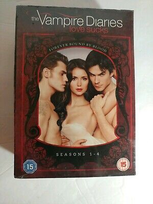 The Vampire Diaries love sucks Seasons 1-4 for sale  Shipping to Canada