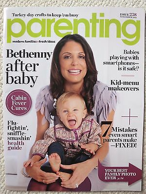 Parenting Magazine 258 November 2011 Bethenny Frankel After Baby