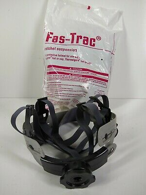 Skullgard Hard Hat Ratchet Liner Fas-trac Suspension Replacement Msa 10153385