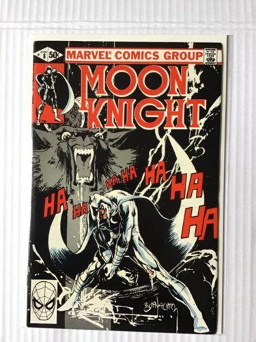 MOON KNIGHT # 8  FIRST PRINT MARVEL COMICS