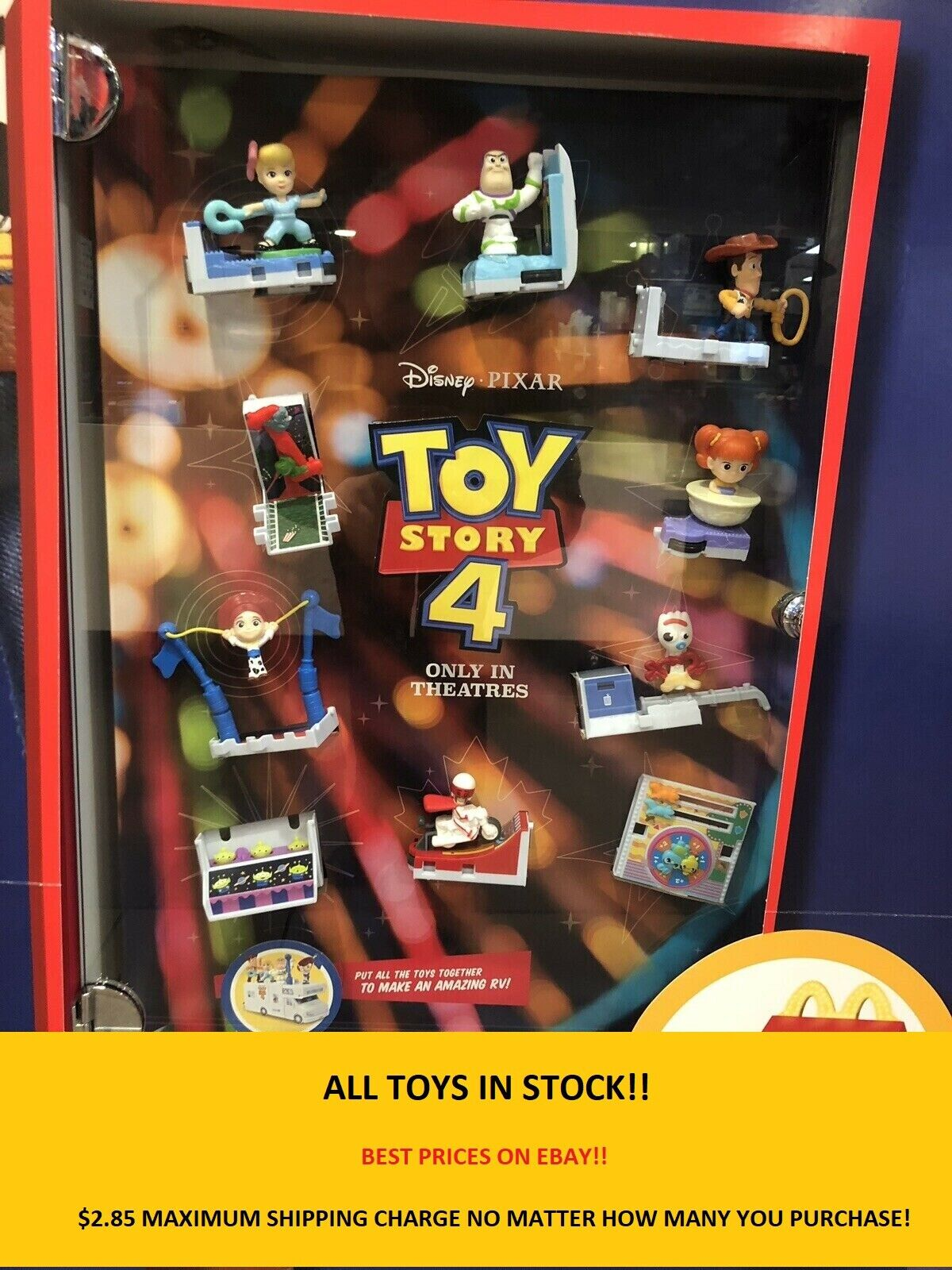 2019 McDonald's Toy Story 4 Happy Meal Toys YOU PICK - ALL IN STOCK *PRICE DROP*