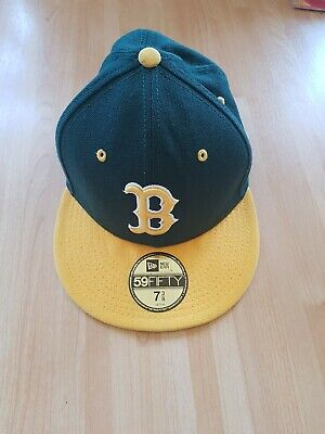 Boston Red Sox Green And Yellow New Era Snapback Baseball cap