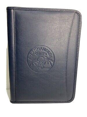 Florida Panhandle Police Chiefs Assn Zipper Business Portfolio Rare Brand New.