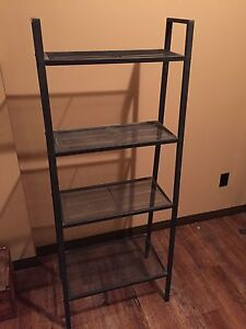 Steel shelving or book case for sale