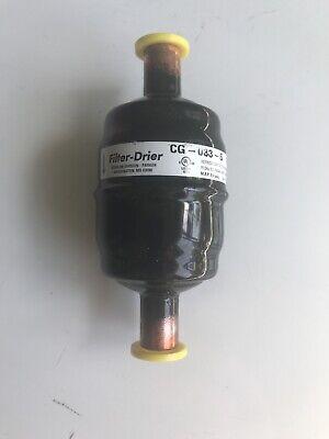 New Sporlan Catch All Refrigerant Filter Drier Cg-033-s Nos Free Shipping