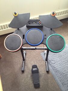 Xbox drum set with pedal