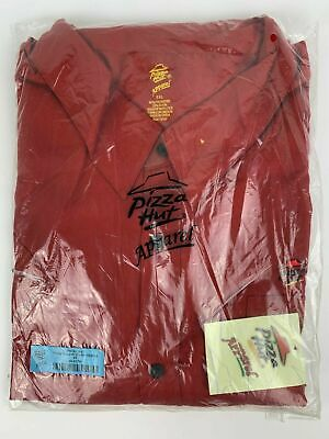NWT Pizza Hut Apparel Manager's Long Sleeve Shirt - Size 4XL - FREE (Hut Clothing)