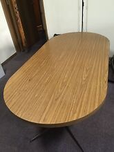 Large retro dining table Carlton Melbourne City Preview