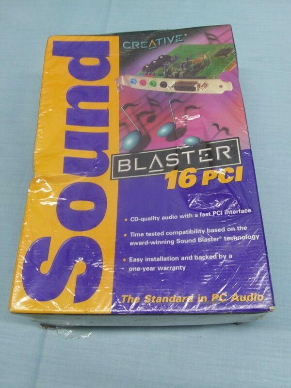 New CREATIVE Sound Blaster 16 PCI Sound Card PC Model SB4740