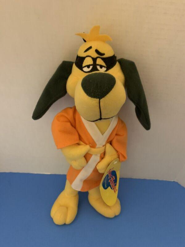 "Toy Factory Hanna-Barbera Hong Kong Phooey 15"" Plush Toy W/ Tags Dog Robe"