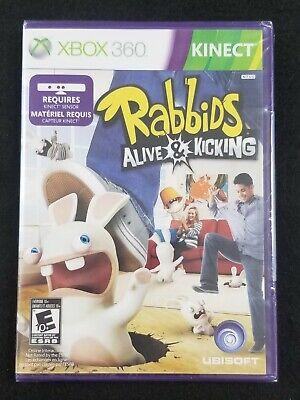 Rabbids: Alive & Kicking **XBOX 360 KINECT**NEW** comprar usado  Enviando para Brazil