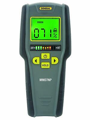 General Tools Mmd7np Pinless Non-invasive Non-marring Digital Moisture Meter